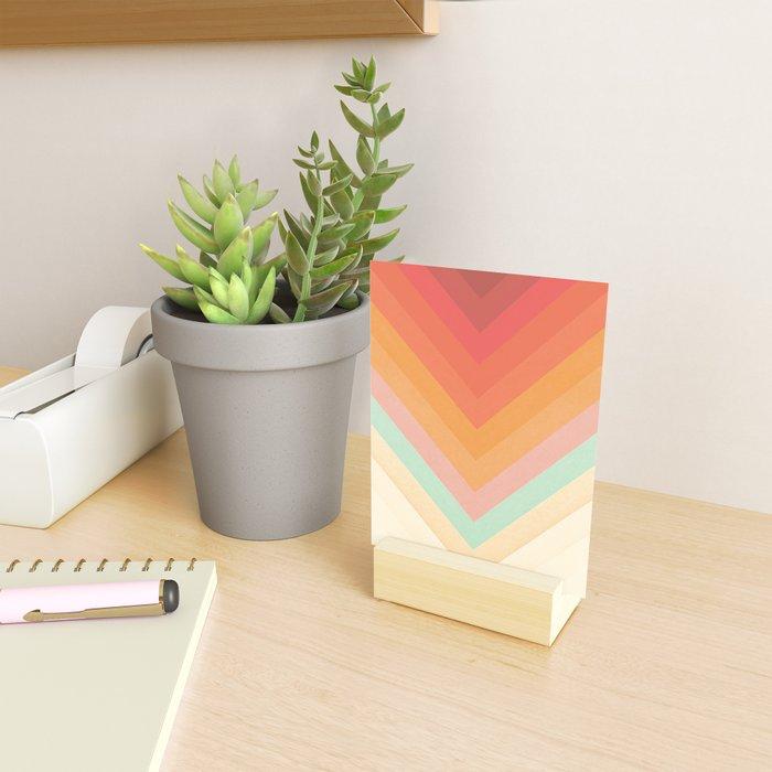 Rainbow Chevrons Mini Art Print