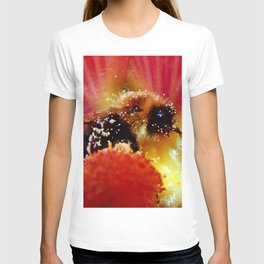 The Bee in the Flower T-shirt