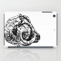ram iPad Cases featuring Ram by Ingrid Restemayer