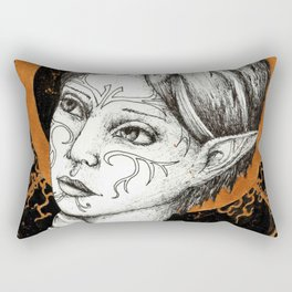 Ladies of Dragon Age: Merrill Rectangular Pillow