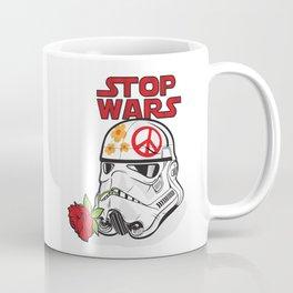 stop wars: stormtrooper for peace Coffee Mug