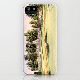 Oakmont Golf Course iPhone Case
