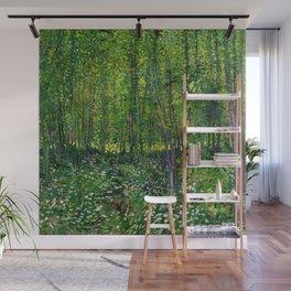 Vincent Van Gogh Trees & Underwood Wall Mural