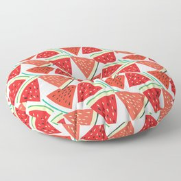 Sliced Watermelon Floor Pillow