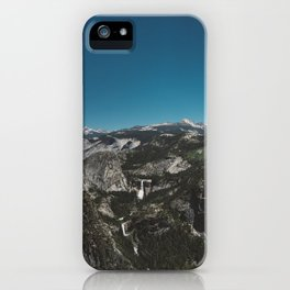 Glacier Point, Yosemite National Park IV iPhone Case