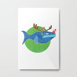 Christmas Cod #3 Metal Print