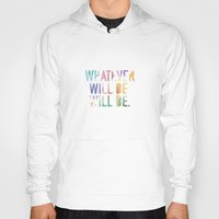 whatever Hoodies featuring Whatever by TheSmallCollective