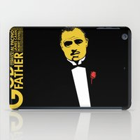 the godfather iPad Cases featuring GODFATHER by miszkurka