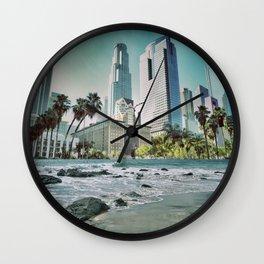 Surf City L.A. Wall Clock