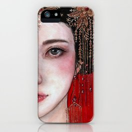 Royal Gown iPhone Case