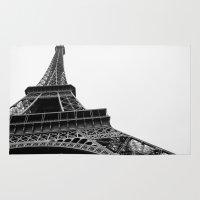 eiffel Area & Throw Rugs featuring Eiffel by Angel Durán
