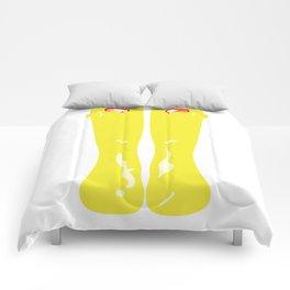 Yellow Rainboots Comforters