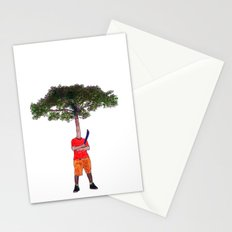 Warrior tree Stationery Cards