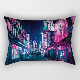 Nocturnal Alley Rectangular Pillow
