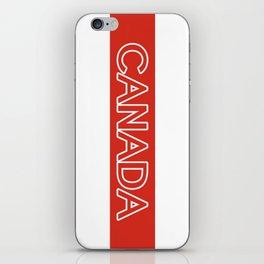 Canada (Stripe) iPhone Skin