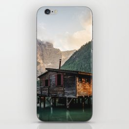 Lago di Braies iPhone Skin