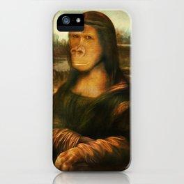 Mona Rilla iPhone Case
