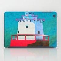lighthouse iPad Cases featuring Lighthouse by Judy Palkimas