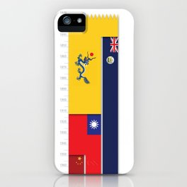 Timeline of Hongkong History iPhone Case