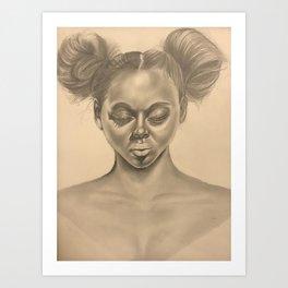 Silenced African American Art Print