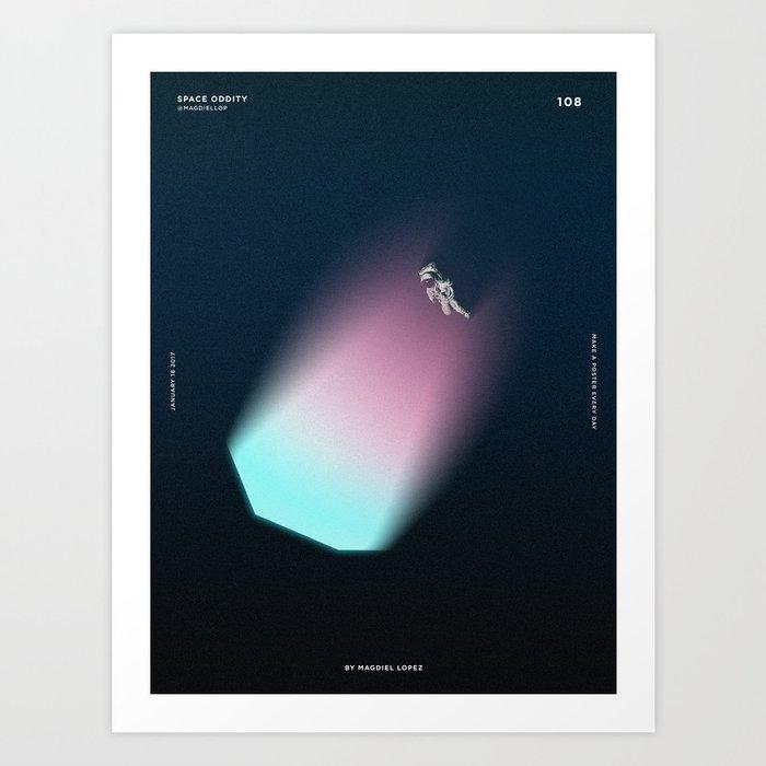 108 - Space Oddity Art Print