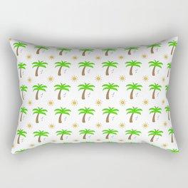 Palms pattern Rectangular Pillow