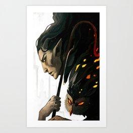 FalonDin Art Print