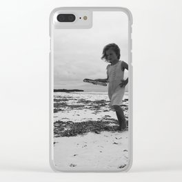 The Young Artist. Clear iPhone Case