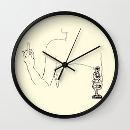 Fuck the oscar Wall Clock