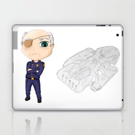 Colonel Tigh | Battlestar Galactica Laptop & iPad Skin