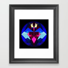 No Time for Space Framed Art Print