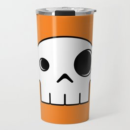 Mushroom Skull Travel Mug