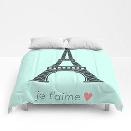 Je t'amie Paris Comforters