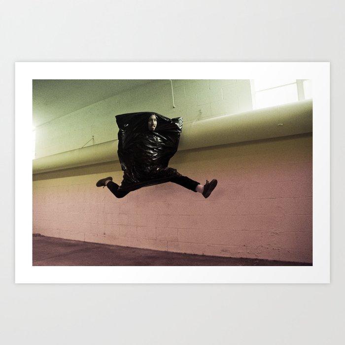 Hop Sack Art Print