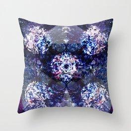 Disco Kaleidoscope Throw Pillow