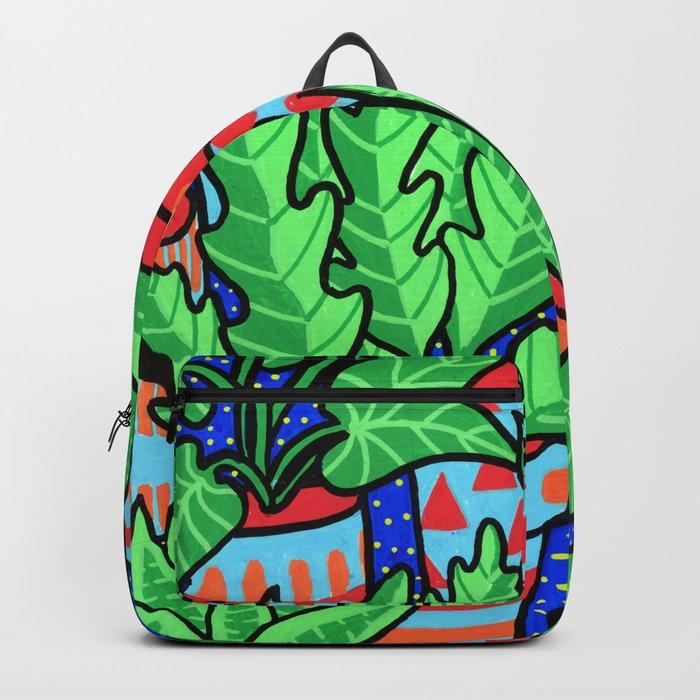 Plants more plants Backpack