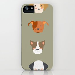 cheerful dog  iPhone Case