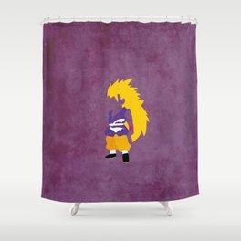 SSJ3 Saiyan Shower Curtain