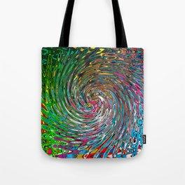 Vortex of Colours Tote Bag