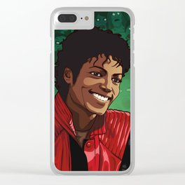 M. Jackson Clear iPhone Case