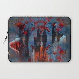 Abstract three women Laptop Sleeve