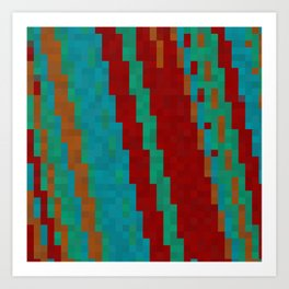 Southwest abstract Art Print