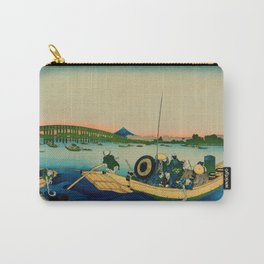 Ryogoku Bridge over the Sumida River Carry-All Pouch
