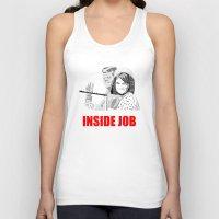 jfk Tank Tops featuring JFK Assassination: Inside Job! by InvaderDig