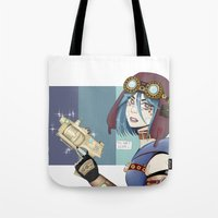 steampunk Tote Bags featuring .Steampunk. by Alice