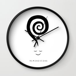 Reminiscing Wall Clock