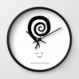 Reminiscing Wall Clock