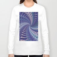 psych Long Sleeve T-shirts featuring Purple Psych v2 by Grace