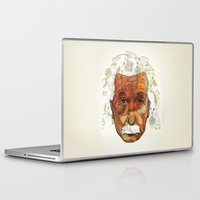 einstein Laptop & iPad Skins featuring Einstein by Jason Ratliff