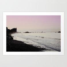 Breaking Tide Art Print
